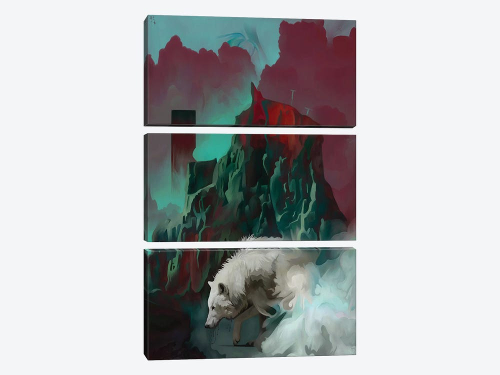 Journey by Mateusz Twardoch 3-piece Canvas Print