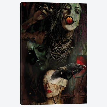 Kali Canvas Print #MTW14} by Mateusz Twardoch Canvas Art Print