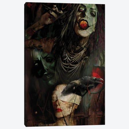 Kali Canvas Print #MTW14} by Mateusz Twardoch Canvas Art Print