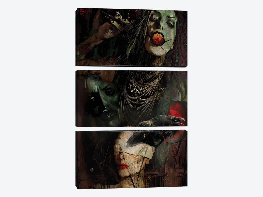 Kali by Mateusz Twardoch 3-piece Canvas Art