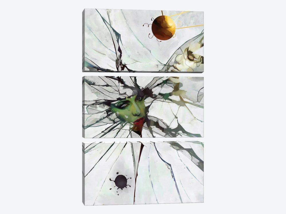 Split by Mateusz Twardoch 3-piece Canvas Art Print