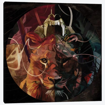 Thrill Canvas Print #MTW21} by Mateusz Twardoch Art Print