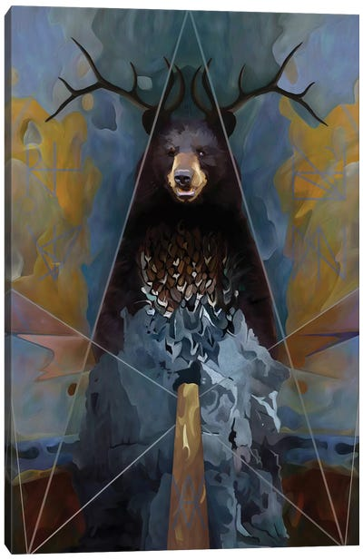 Totem Canvas Art Print