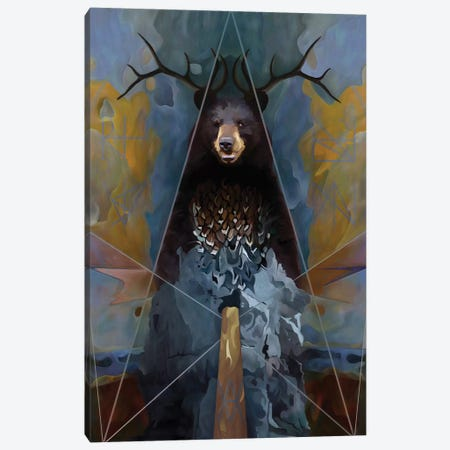 Totem 3-Piece Canvas #MTW22} by Mateusz Twardoch Canvas Art Print