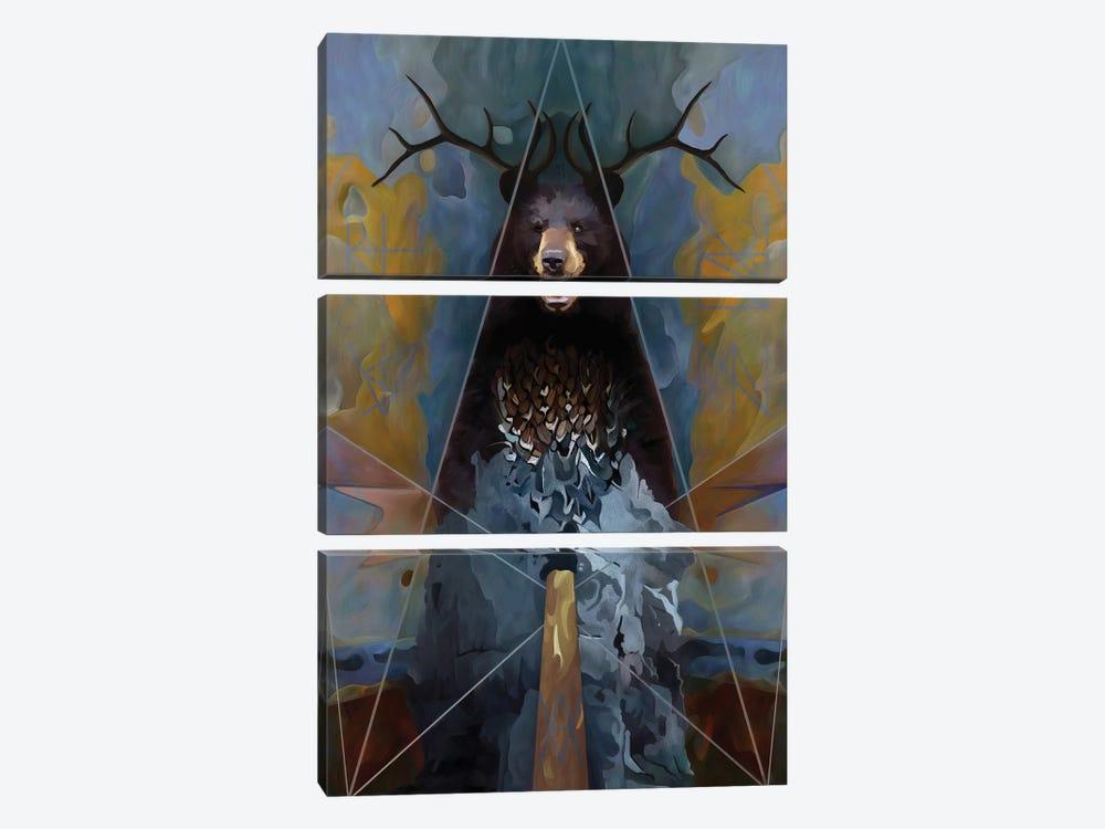 Totem by Mateusz Twardoch 3-piece Art Print