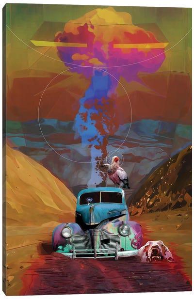 Vivid Waste Canvas Art Print