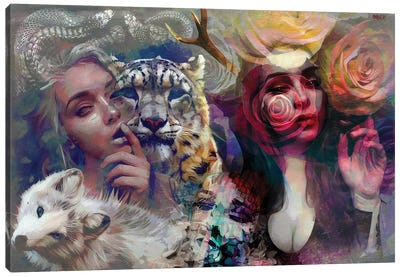 Hera Canvas Art Print