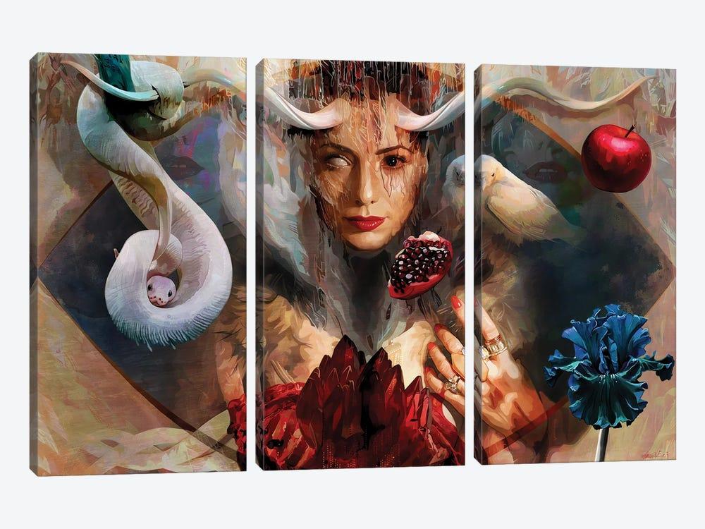 Eve by Mateusz Twardoch 3-piece Canvas Artwork