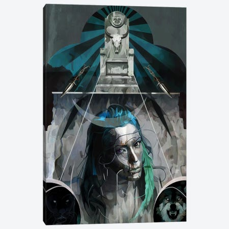 Artemis Canvas Print #MTW2} by Mateusz Twardoch Canvas Wall Art