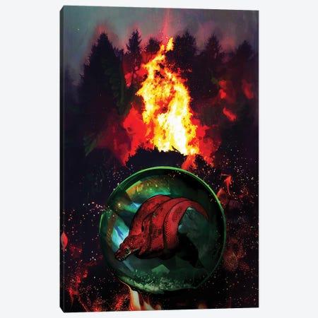 Help The Planet Canvas Print #MTW31} by Mateusz Twardoch Canvas Art
