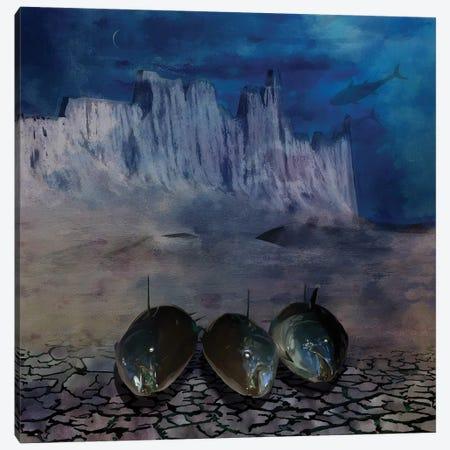 Eclipse Canvas Print #MTW7} by Mateusz Twardoch Art Print