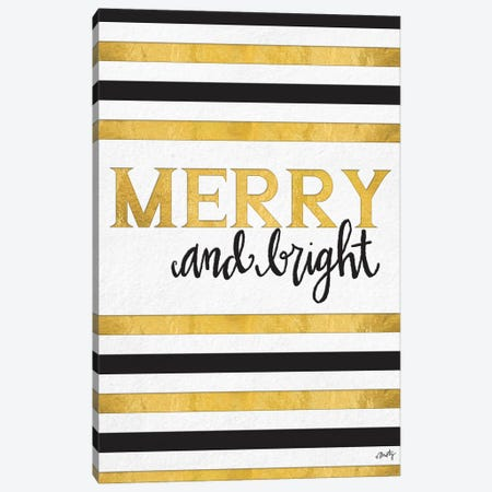 Merry and Bright Canvas Print #MTY10} by Misty Michelle Canvas Wall Art