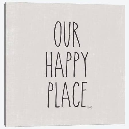 Our Happy Place Canvas Print #MTY11} by Misty Michelle Canvas Wall Art