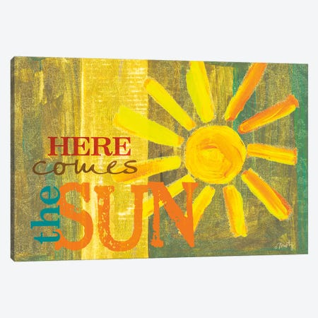 Here Comes the Sun Canvas Print #MTY6} by Misty Michelle Canvas Art Print