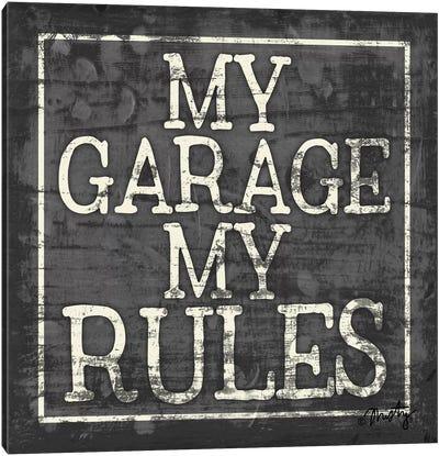 My Garage, My Rules Canvas Art Print