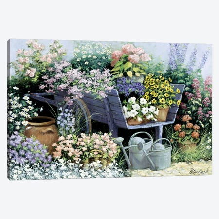 Day's Delight Canvas Print #MTZ10} by Peter Motz Canvas Print