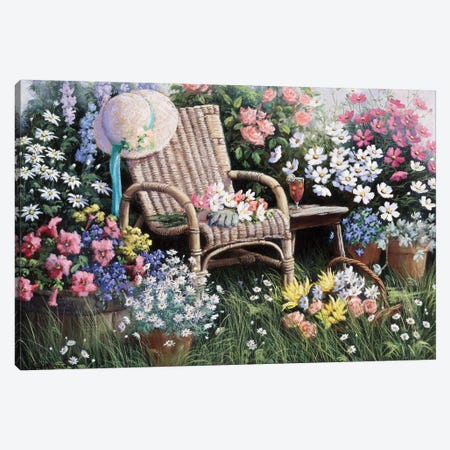 Dreams Of Spring Canvas Print #MTZ11} by Peter Motz Canvas Art Print