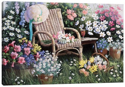 Dreams Of Spring Canvas Art Print