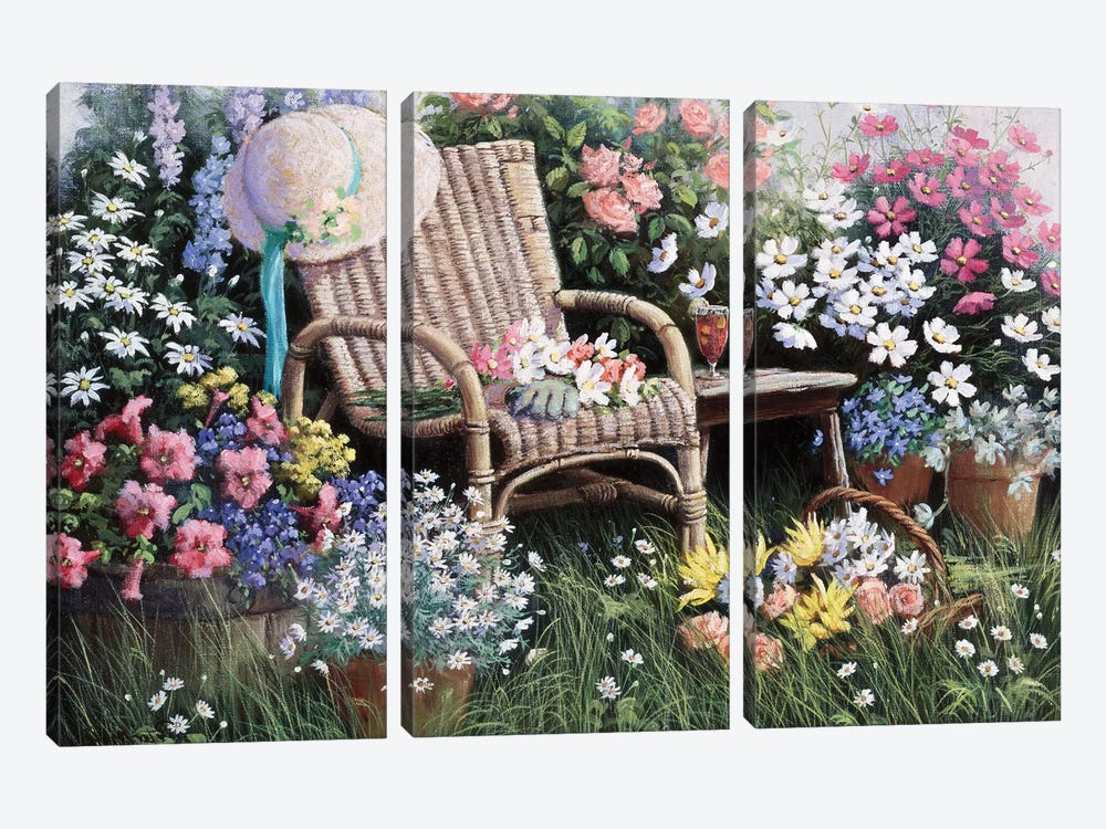 Dreams Of Spring by Peter Motz 3-piece Canvas Artwork