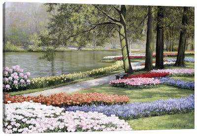 Floriade Canvas Art Print