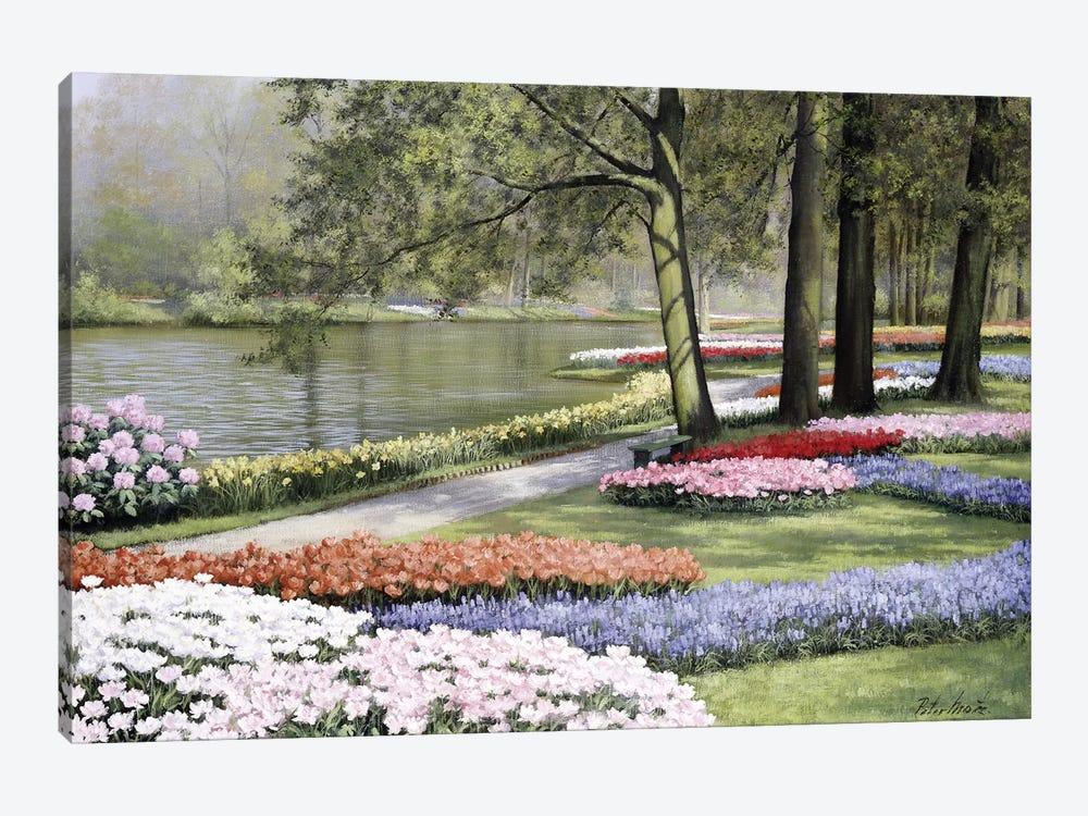 Floriade by Peter Motz 1-piece Canvas Artwork