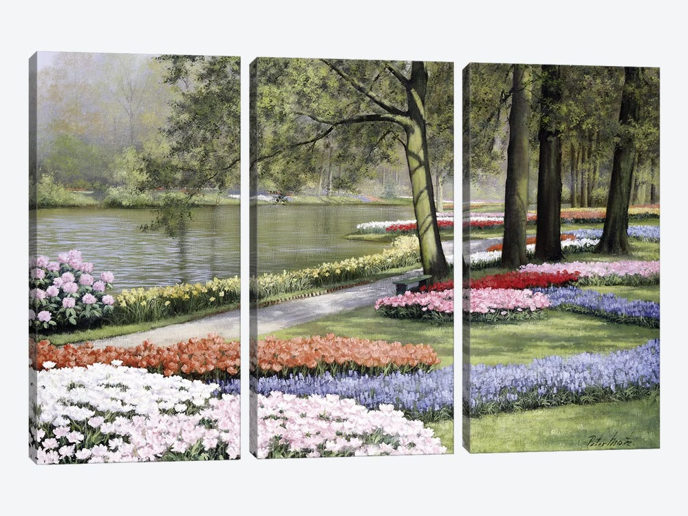 Floriade by Peter Motz 3-piece Canvas Art