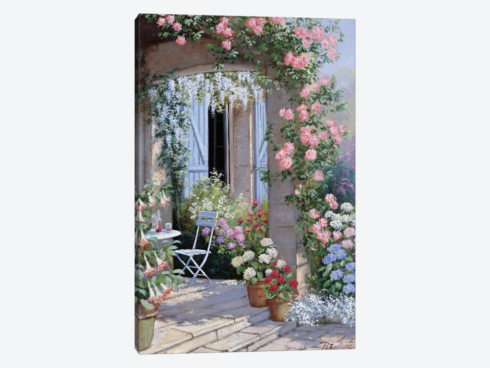 Flower Invitation by Peter Motz 1-piece Canvas Print