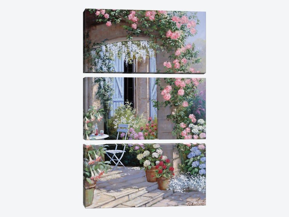 Flower Invitation by Peter Motz 3-piece Art Print