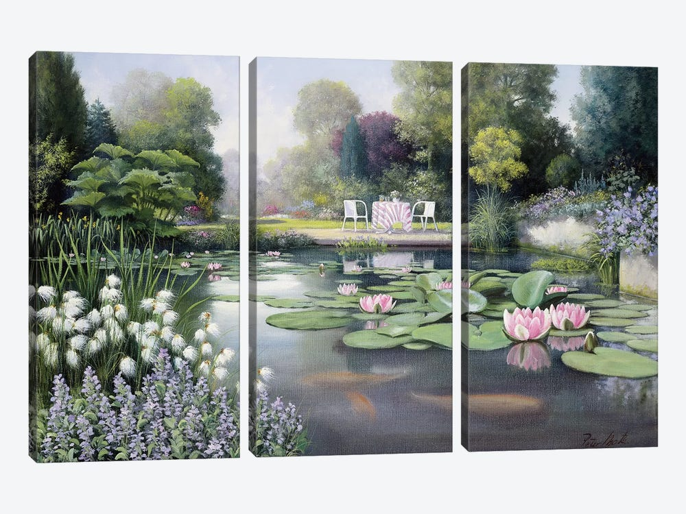 Flowering Time by Peter Motz 3-piece Canvas Art