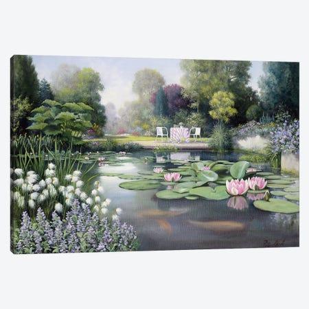 Flowering Time Canvas Print #MTZ15} by Peter Motz Canvas Artwork