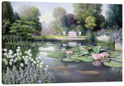 Flowering Time Canvas Art Print