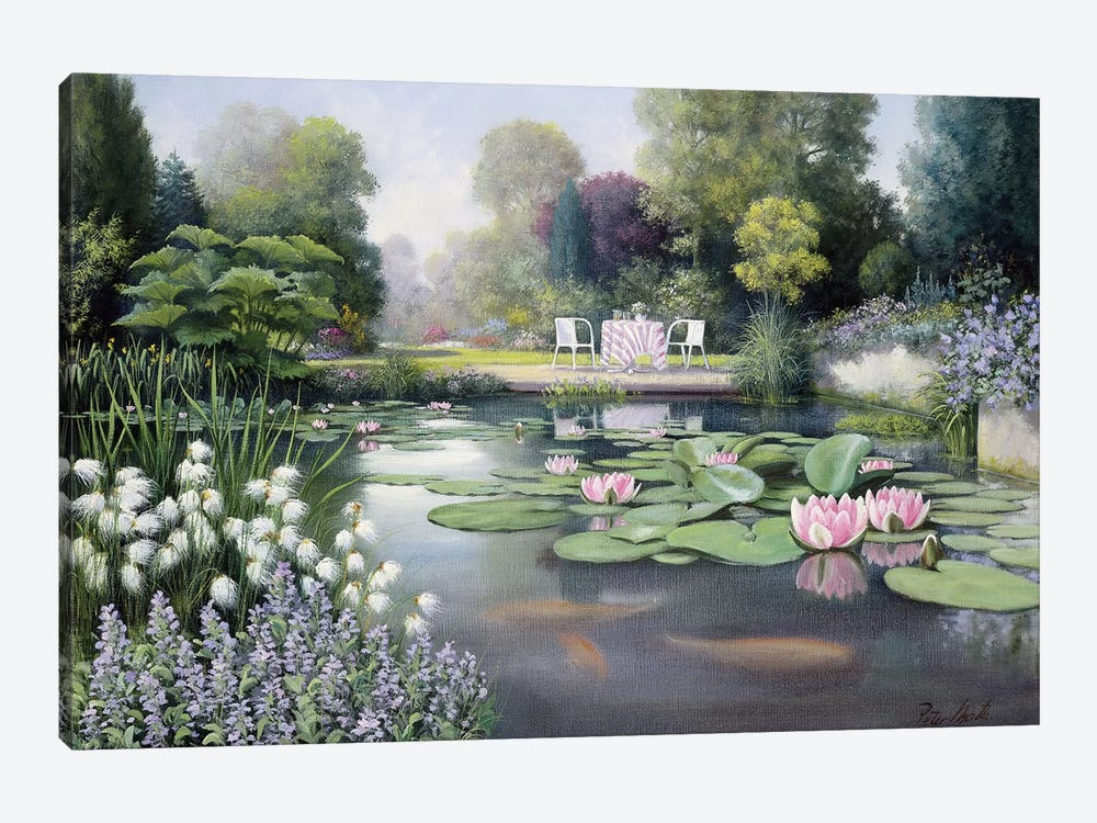 Flowering Time by Peter Motz 1-piece Canvas Wall Art