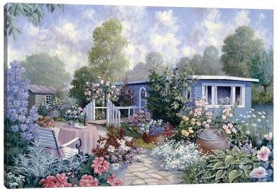 Houseboat Canvas Art Print