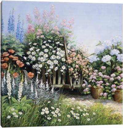 In My Garden Canvas Art Print