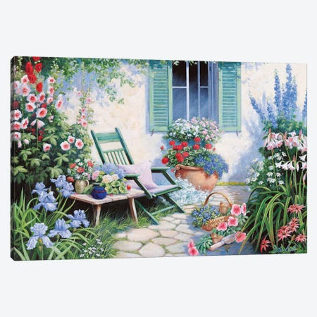 A Beautiful Spot Canvas Print #MTZ1} by Peter Motz Canvas Print