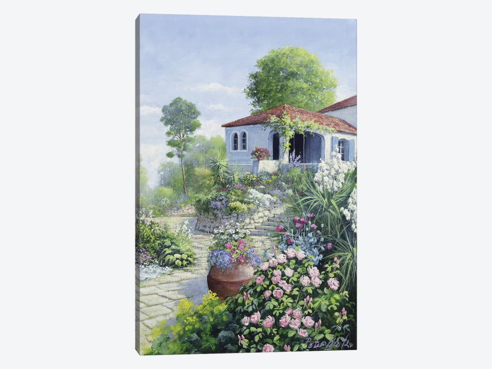 Italian Garden I by Peter Motz 1-piece Canvas Art