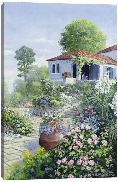 Italian Garden I Canvas Art Print