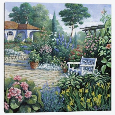 Italian Garden II Canvas Print #MTZ21} by Peter Motz Canvas Artwork