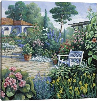 Italian Garden II Canvas Art Print