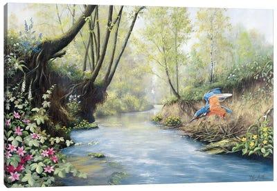 Kingfisher Canvas Art Print