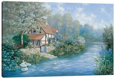 Lakescape Canvas Art Print