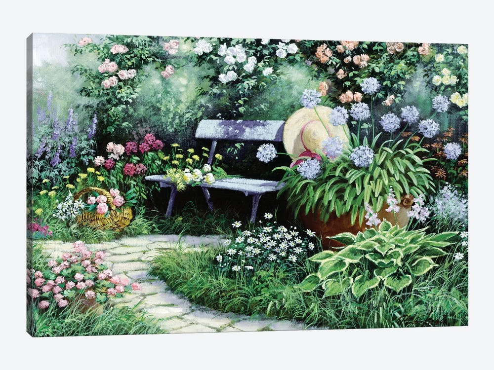 Lovely by Peter Motz 1-piece Canvas Print