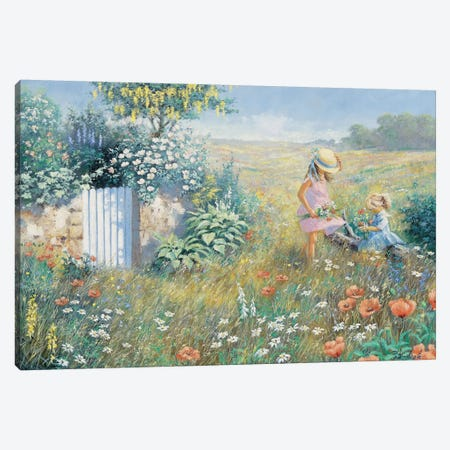 Outside The Garden Canvas Print #MTZ31} by Peter Motz Canvas Print