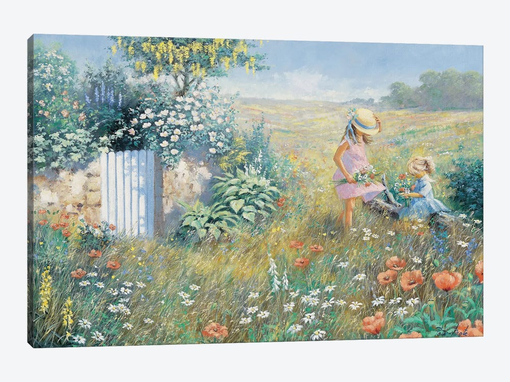 Outside The Garden by Peter Motz 1-piece Canvas Artwork