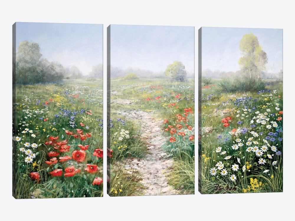 Poetry Of Nature by Peter Motz 3-piece Canvas Print