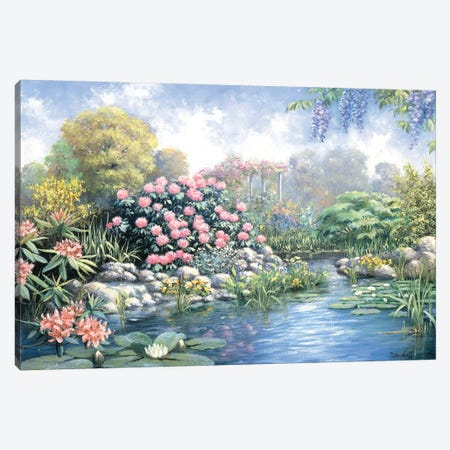 Rhododendron Canvas Print #MTZ38} by Peter Motz Art Print