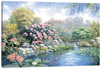 Rhododendron Canvas Art Print