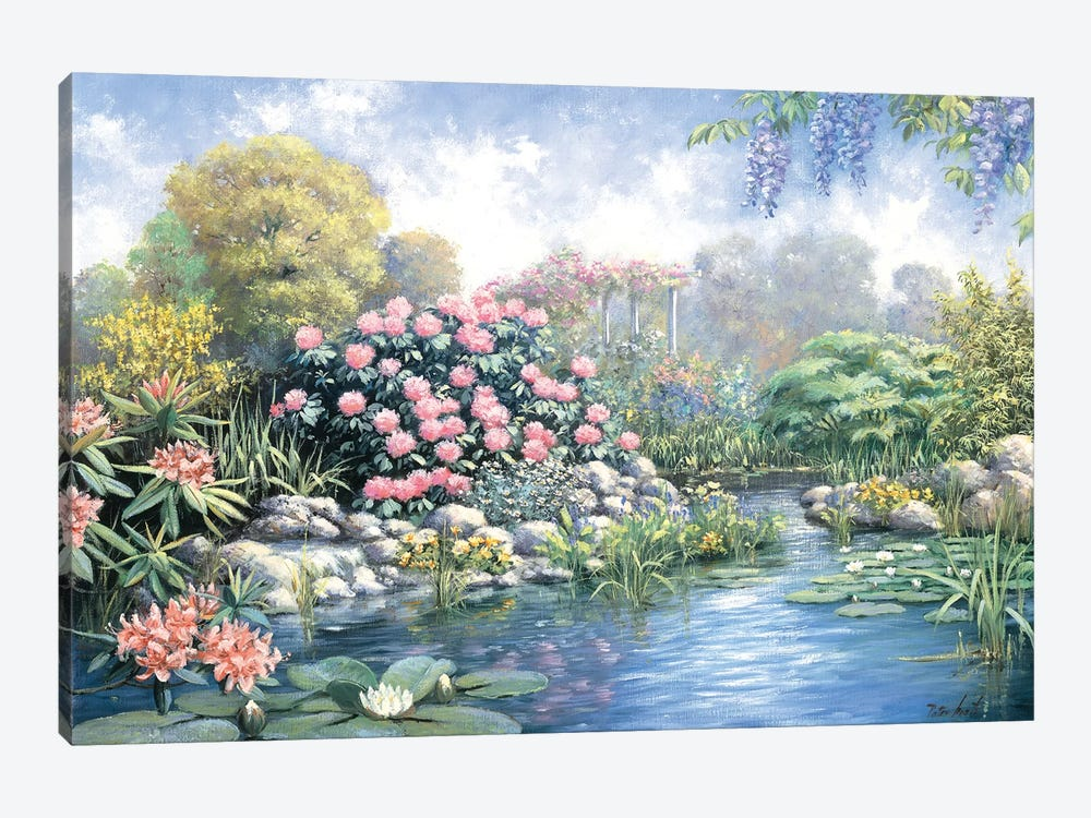 Rhododendron by Peter Motz 1-piece Canvas Art Print