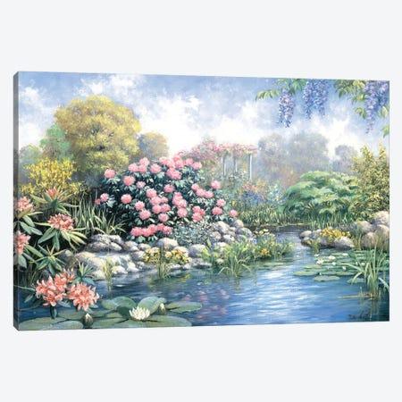 Rhododendron Canvas Print #MTZ38} by Peter Motz Art Print