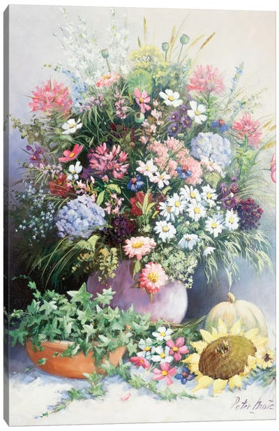 Season's Warmth Canvas Art Print